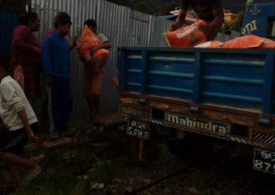 Aide d'urgence pour l'orphelinat de Katmandou